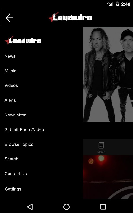 Loudwire- screenshot