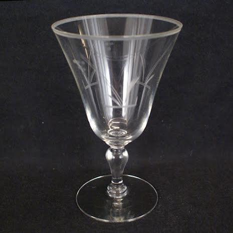 graverade glas Vinglas