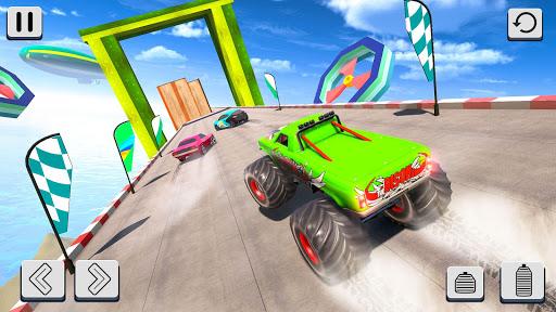 Mega Ramp Car Racing Stunts 3D - Impossible Tracks android2mod screenshots 3