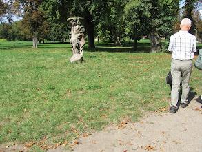 Photo: Park przed klasztorem