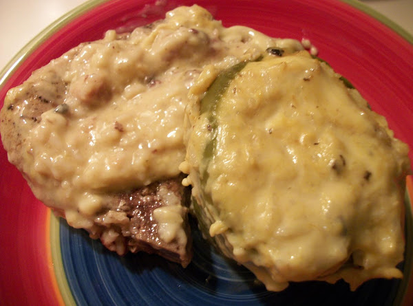 Stuffed Peppers & Pork Chops (kat's) Recipe