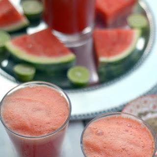 Watermelon Ginger Masala Lime Soda