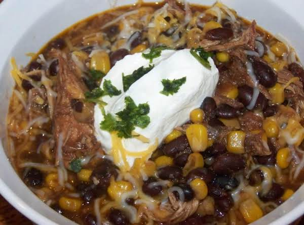 Black Bean Chicken Chipolte Soup