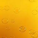 Orange Bubbles Live Wallpaper icon