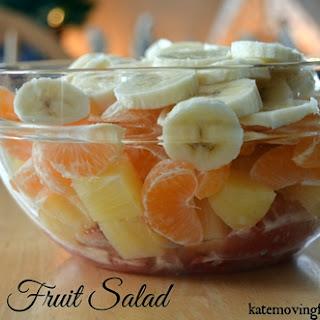 Citrus Fruit Salad.