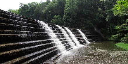 Photo: dam, bottom view