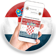 Croatia Flag Keyboard - Elegant Themes