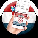 Croatia Flag Keyboard - Elegant Themes APK