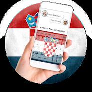Croatia Flag Keyboard - Elegant Themes APK icon