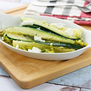Sautéed Zucchini & Leek