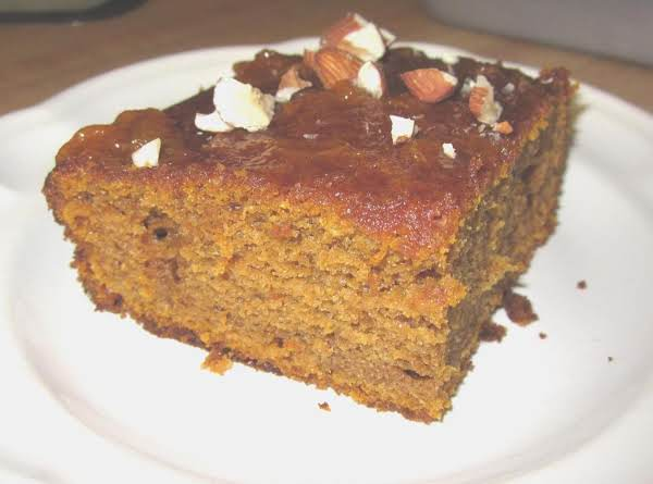 Pumpkin Spice Cake W/ Apricot Glaze Recipe