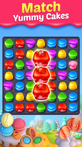 Cake Smash Mania - Swap and Match 3 Puzzle Game apkpoly screenshots 1