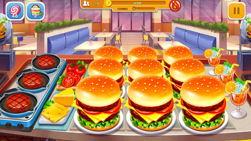 Cooking Frenzy: A Crazy Chef in Restaurant Games modavailable screenshots 2