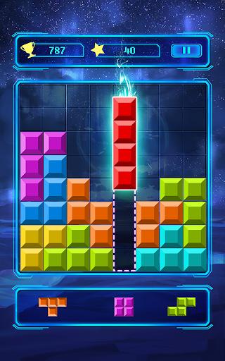 Brick block puzzle - Classic free puzzle cheat screenshots 1