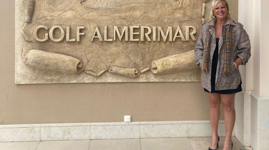 La almeriense Marisa Parrón, embajadora en la Solheim Cup de 2023 Gol Almerimar