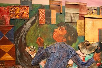 Photo: Antonio Berni Juanito Laguna remontando un barrilete -detalle- 1973. Colección particular, Buenos Aires. Expo: Antonio Berni. Juanito y Ramona (MALBA 2014-2015)