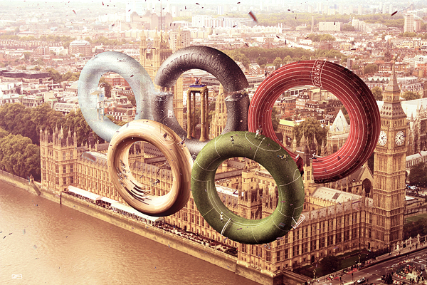 Photo: Olympic Games 2012 by Leonardo Dentico http://www.behance.net/gallery/Olympic-Games-2012/4661805