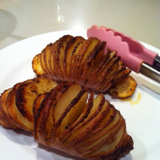 Crunchy Hasselback Potatoes