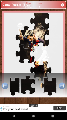 Lionel Messi Game Puzzle android2mod screenshots 5