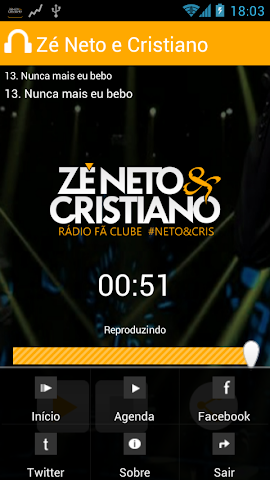 android Zé Neto e Cristiano Screenshot 1