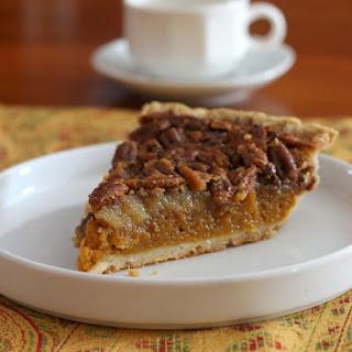Classic Pumpkin Pecan Pie.