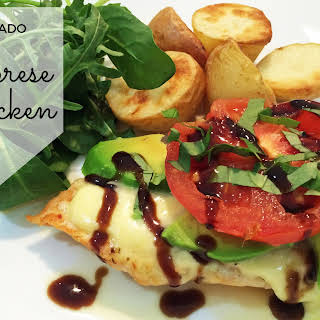 Avocado Caprese Chicken.