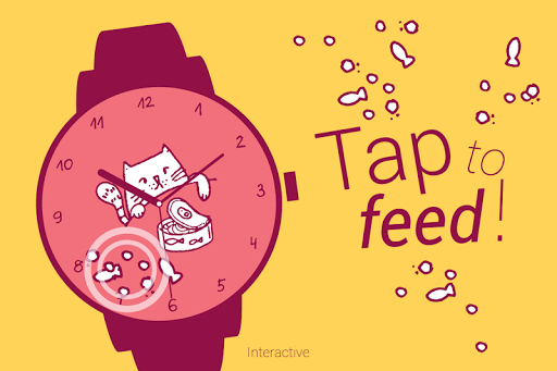 Hungry Cats Watch Face
