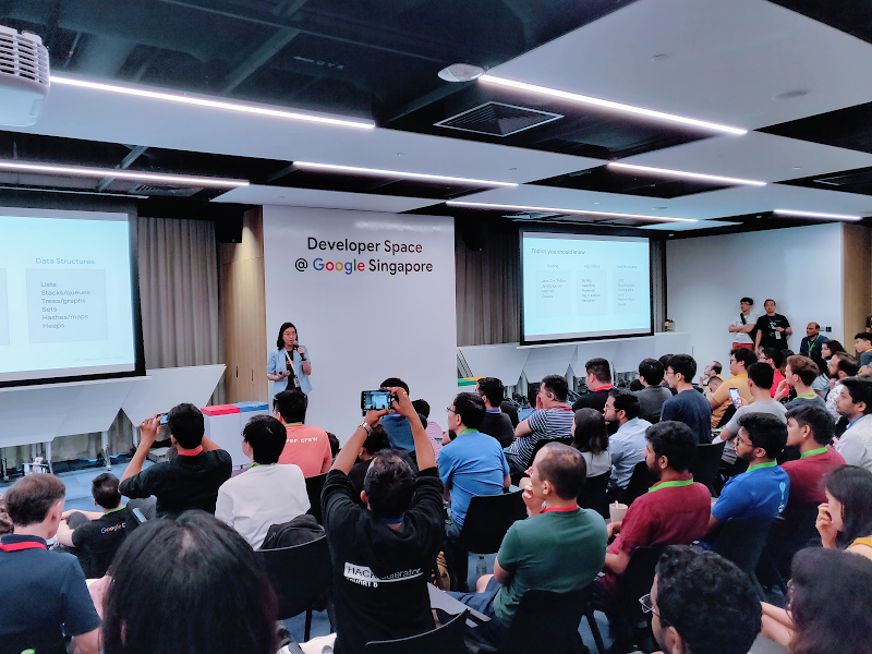 Connect and learn in a Google Developer Group