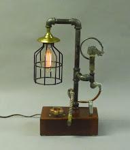 Photo: lamp - steampunk