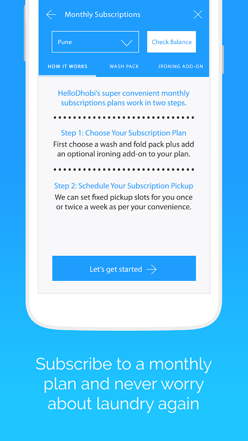 HelloDhobi - Laundry Services- screenshot