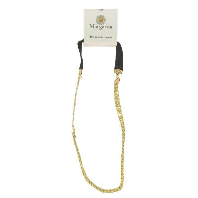 accesorio margarita cintillo elastico dorado surtido