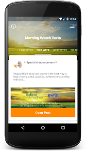 Morning Watch Texts- screenshot thumbnail