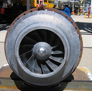 Impeller vibration