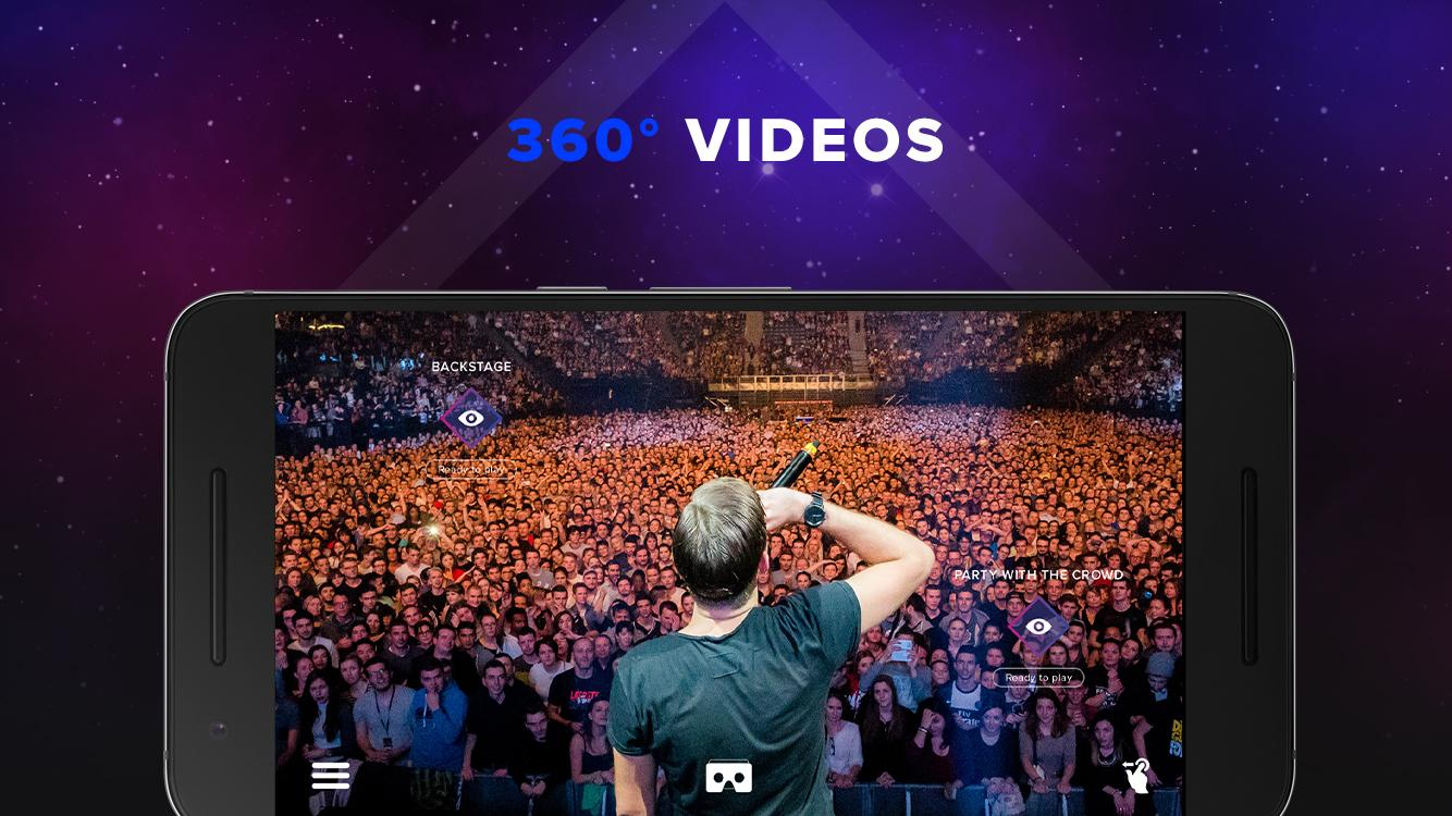 Sam Feldt 360 Experience- screenshot