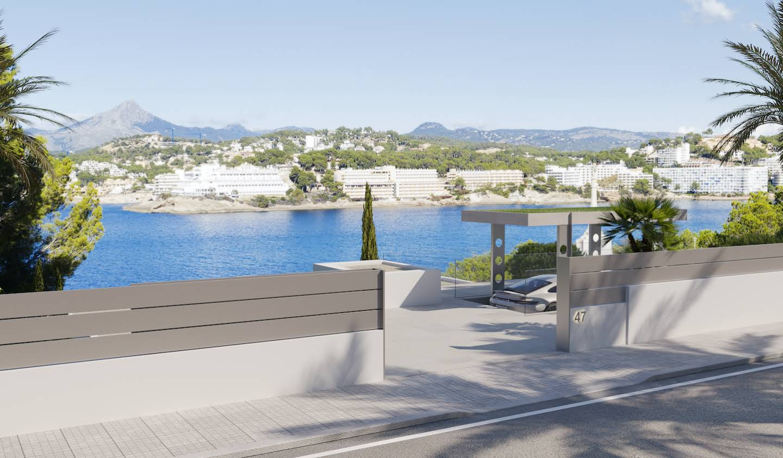 Seaside villa with pool Santa Ponsa