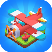 Merge Plane - Click & Idle Tycoon Icon