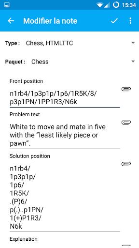 AnkiDroid (Cartes mémoire) screenshot 8