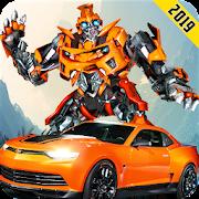 US Robot Car Transform 3D : Grand Tornado Robot