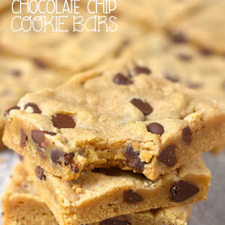 Brown Butter Chocolate Chip Cookie Bars.