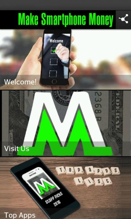 Make Smartphone Money App- screenshot