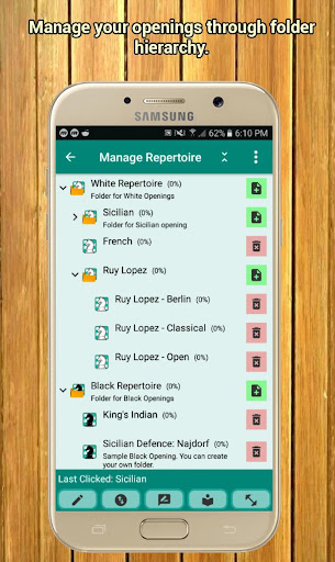 Chess Repertoire Manager Free - Build, Train, Play 3.9.74 screenshots 1