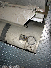 """Photo: This is the drivers side of the body. You could get anozzlein there now, but we are cutting a half moon """"expansion"""" in to make it easier. This is a problem area on any truck bed build."""