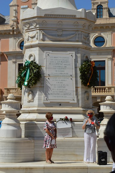 Asociaciones que han participado en el homenaje a los Mártires de la Libertad