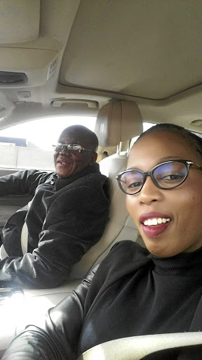 Doctor Godfrey Sankubele Dire in his car with Malibyane Maoeng, who was last seen with the deceased.