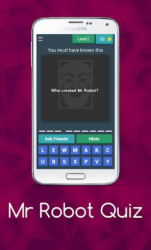 Mr Robot Quiz 8.8.1z screenshots 3