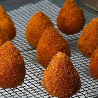 1. Brazilian Chicken Croquettes (Coxinha)