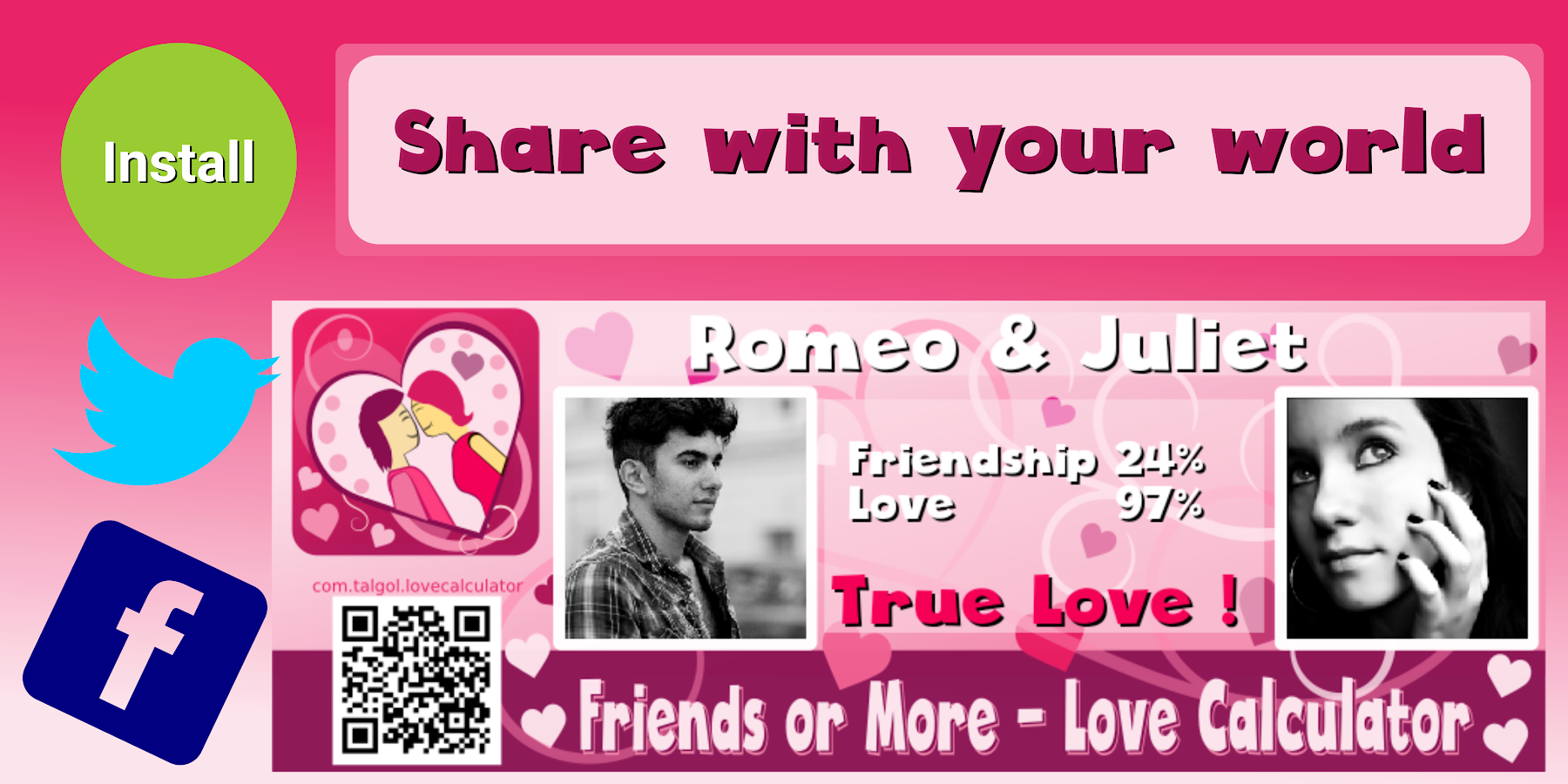 Uncategorized Love Calculator Games For Kids friend or love calculator android apps on google play screenshot