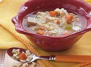 Alphabet Chicken Soup Recipe