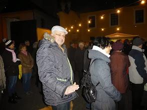 Photo: Der zukünftige Wallfahrtsleiter Gerhard Schuster mahnt zur Mässigung.