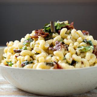 Charred Scallion & Bacon Macaroni Salad